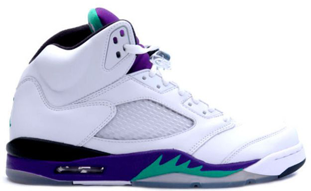 Air Jordan 5 Retro GS Grape