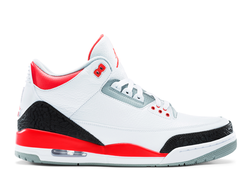 Air Jordan 3 Retro GS Fire Red