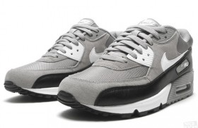 Air Max 90 Medium Grey/Black-White