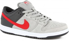 SB Dunk Low Grey/Red